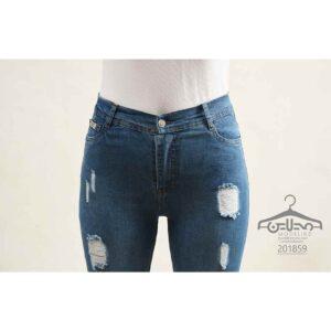 شلوار جین پا دکمه